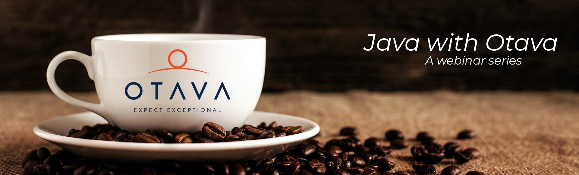Java with Otava landing page